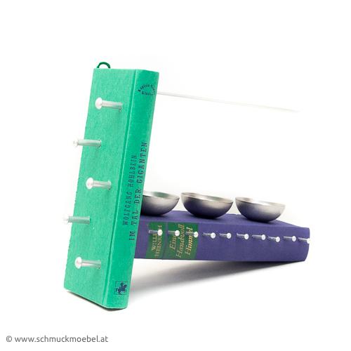 bookmoebel violett-gruen