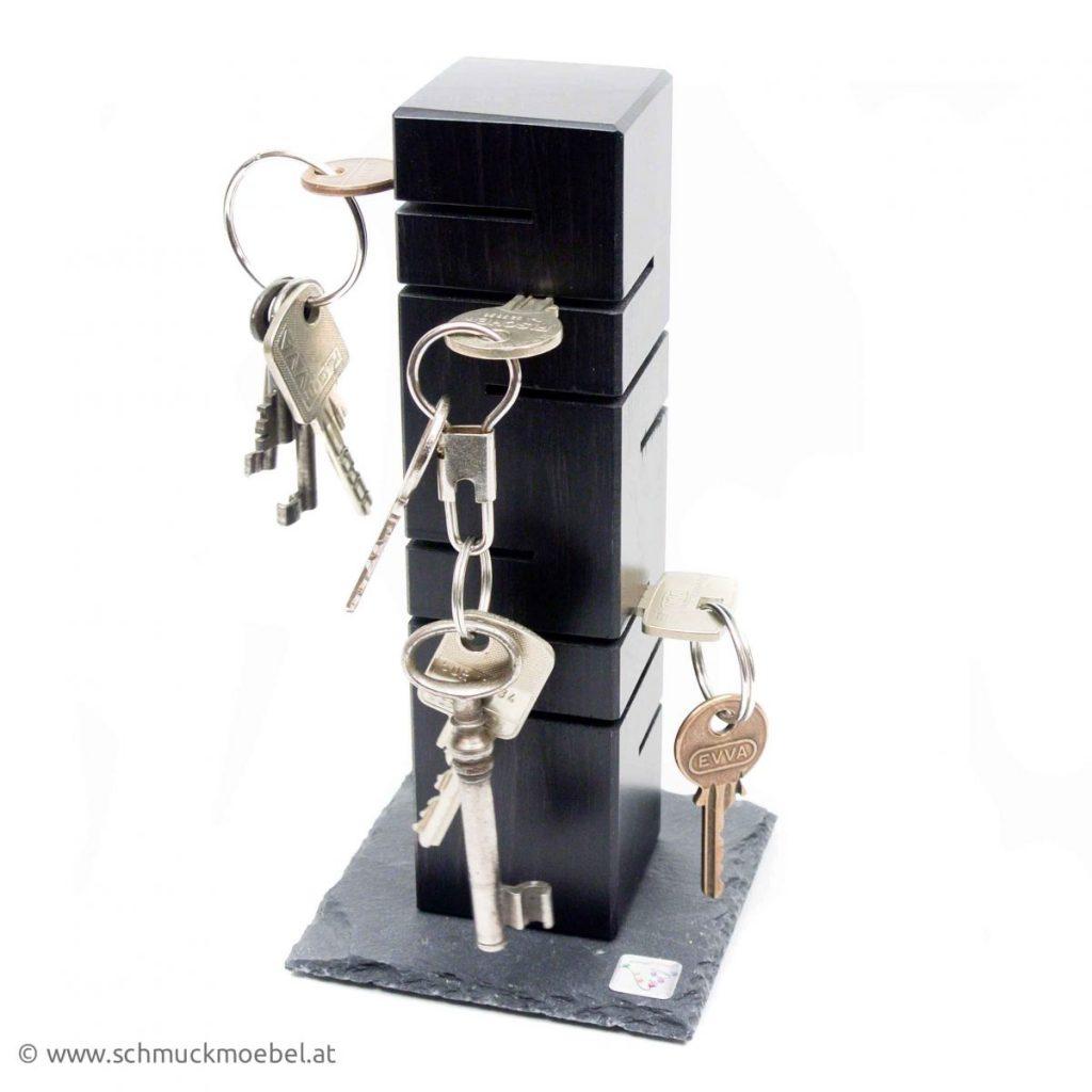 Schlüsselturm schwarz