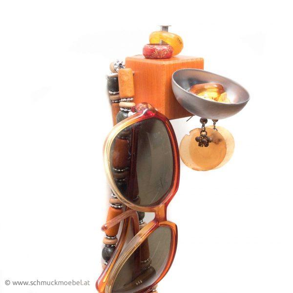 Schmuckmöbel Cubo orange